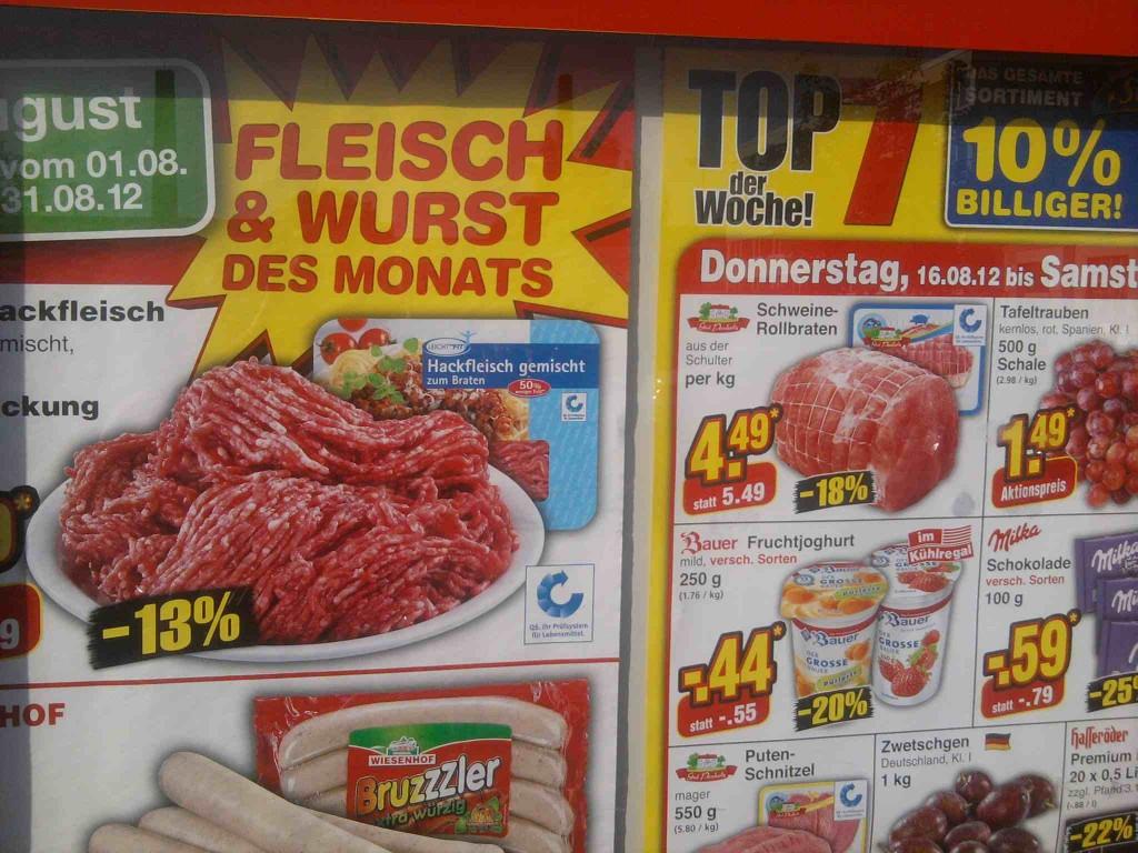 GSA Fleisch: Billigfleisch aus Massen-Produktion