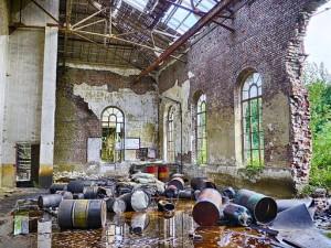 600 Arbeitsplätze wurden nach 5 Betriebsübernahmen in Lohr vernichtet (Quelle wikicommons, Urheber: Fernost)