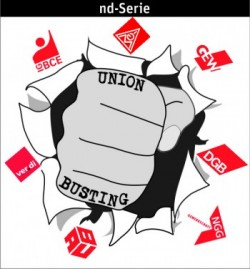 Logo nd-seire Union Busting