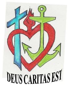 Gott ist Nächstenliebe - Deus Caritas est.