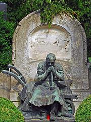 Arbeiter-Statue Zentralfriedhof Wien