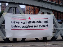 Protest gegen Arbeitgebertage Hamburg