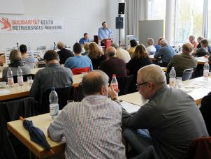 Konferenz gegen Betriebsrats-Mobbing