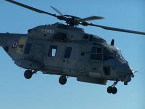 Der Mehrzweck-Kampfhubschrauber NH-90 (Airbus Helicopters), hier im Einsatz der französischen Armee.