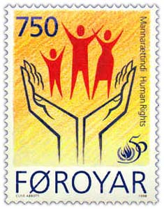 Faroe_stamp_332_human_rights