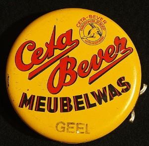 Der alte niederländische Möbelwachs Ceta-Bever ist in Deutschland eher unbekannt.