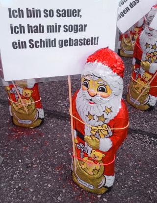 Schweizer Electronic AG Weihnachtsmann-Demo 2015