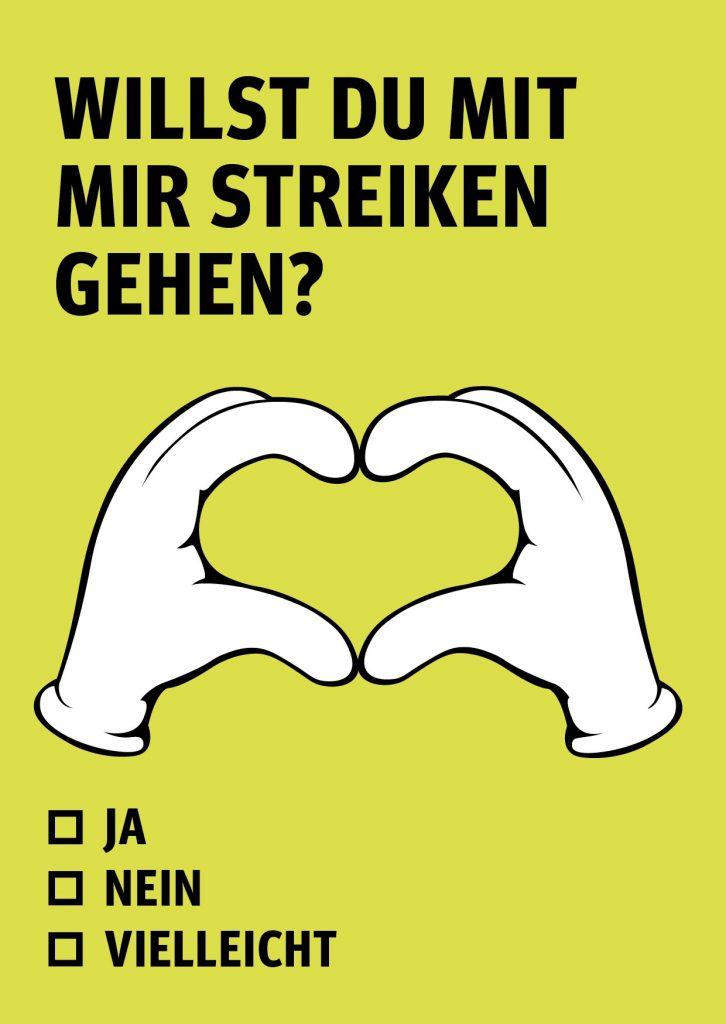 Schweizer Electronic - Willst Du mit mir streiken gehen?
