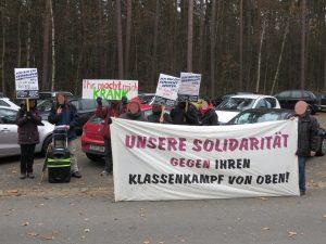 ISA: Schreiner+Partner-Protest in Fürth