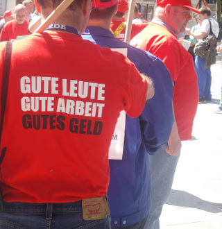Streik gegen Pflegenotstand Charité Berlin 2016