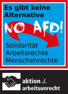No AfD! Es gibt keine Alternative