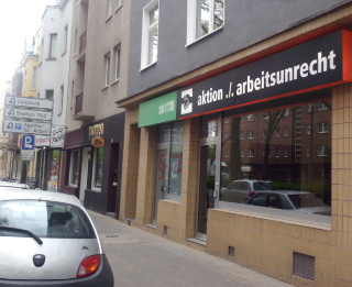 Büro der aktion./.arbeitsunrecht in Köln-Sülz
