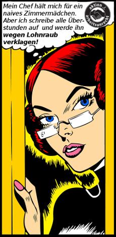 PutzfrauenPower: Zimmermädchen gegen Lohnraub