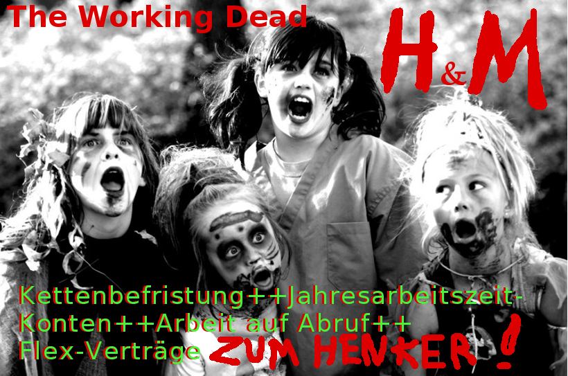 H&M The Working Dead