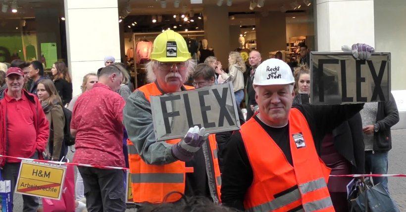 Freitag13: Bundesweite Aktionen bringen H&M in Bedrängnis