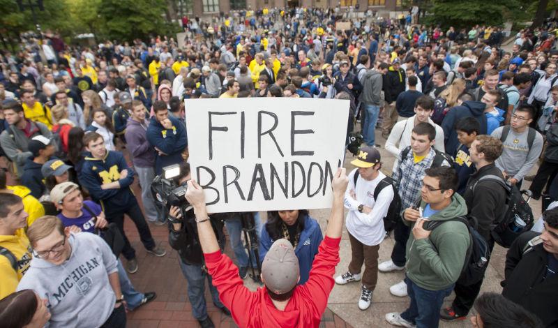 Fire David Brandon