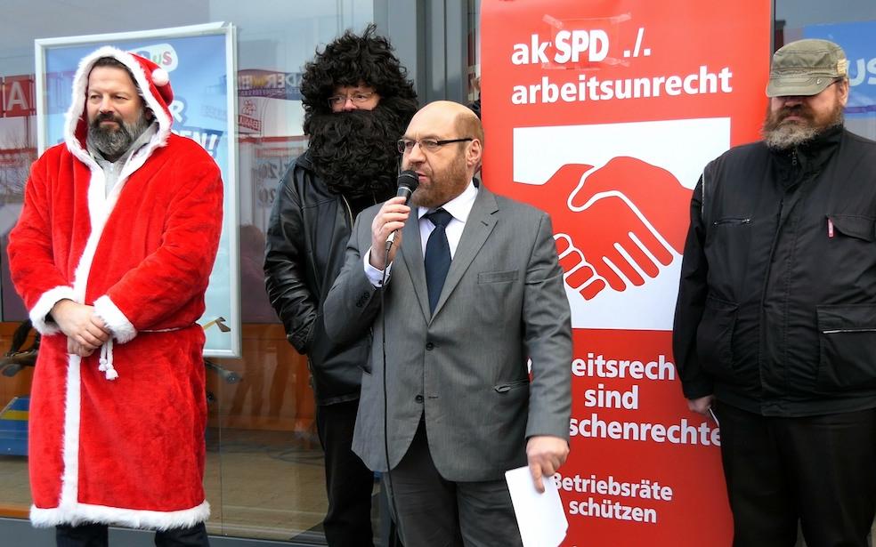 SPD: Strafanzeige zurück ziehen!