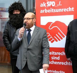 Der Wahre Martin Schulz, Vorsitzender des ak SPD ./. arbeitsunrecht