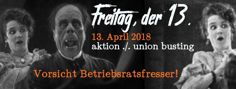 Betriebsratswahlen 2018: Union Buster melden!