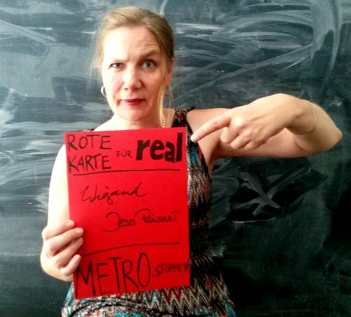 #Freitag13: Rote Karte für Real
