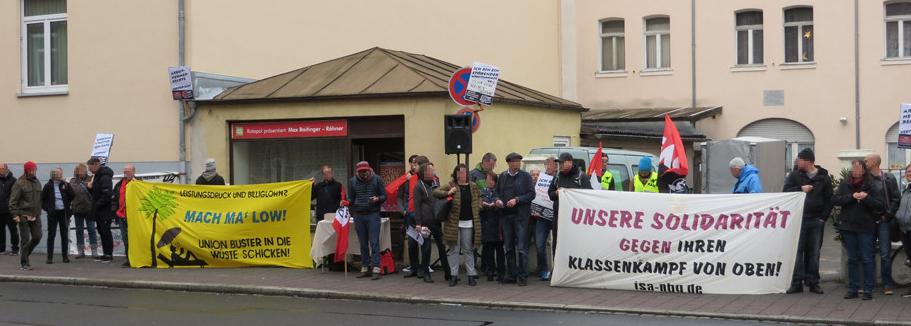 Erlangen: Gegenwind für Schreiner + Partner