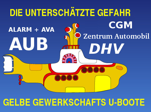 Gelbe Gewerkschafts-U-Boote