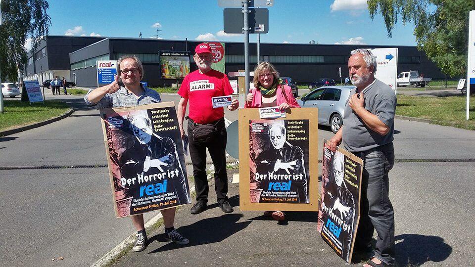 Freitag13: Absurder Strafbefehl gegen Gewerkschafter