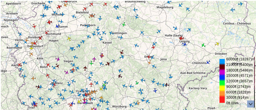 Flugsicherheit abgesenkt. Flugsicherung NRW dfs vom 2019-03-27 18-34-11 Uhr