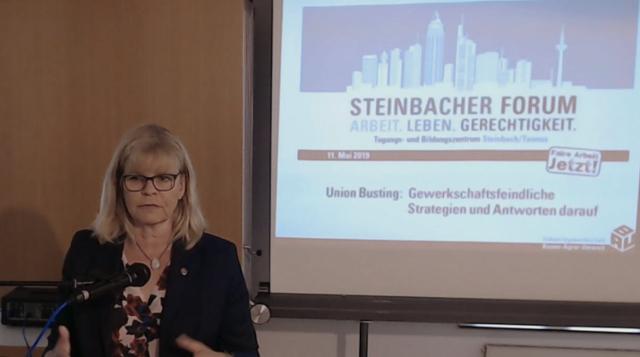 Ulrike Laux IG BAU Bundesvorstand