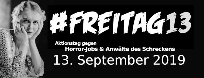 Schwarzer Freitag, der 13. September 2019