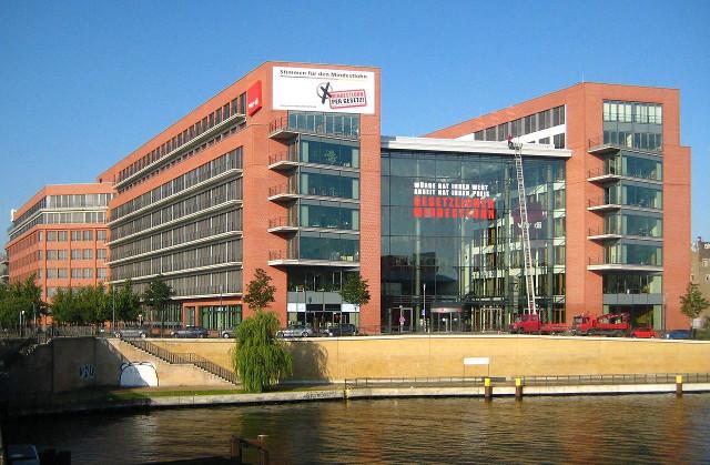 Verdi-Zentrale in Berlin