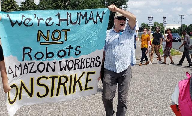Amazon Streik USA