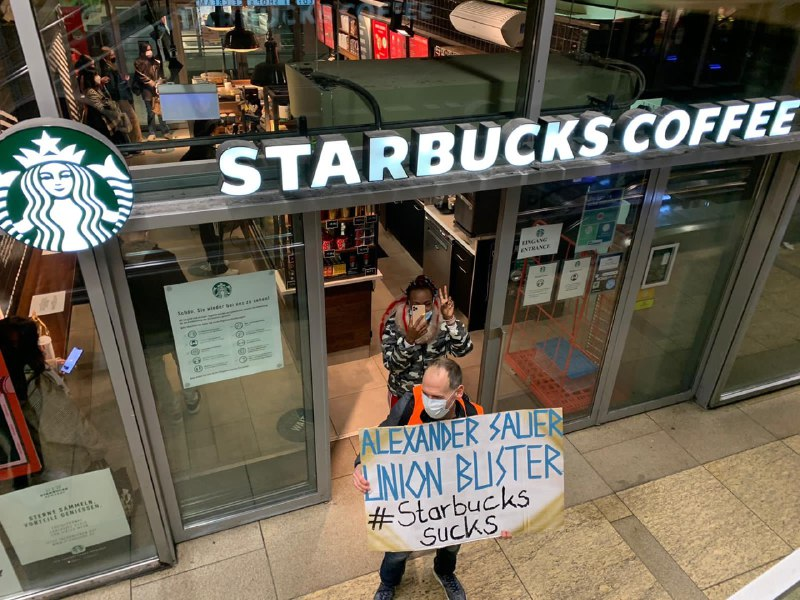 Starbucks AmRest Boykott Freitag13