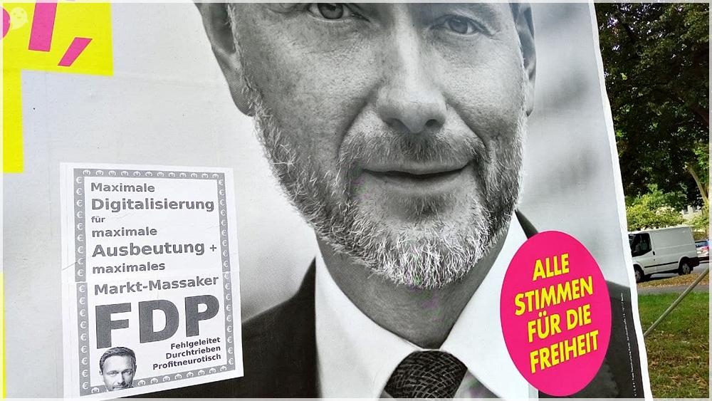 Bundestagswahl 2021 FDP Lindner