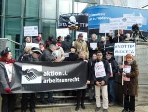 02 Protest vor Berlaymont 4