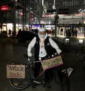 #Freitag13 #Starbucks Berlin