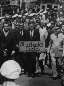 #Freitag13 #Starbucks Kennedy