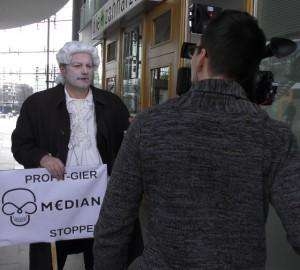 Düsseldorf - Interview Elmar Wigand
