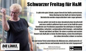Solidarität von MdB Jutta Krellmann (Die LINKE)