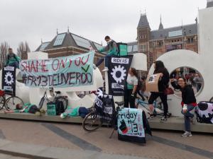 Amsterdam #Fr13Deliveroo 13.04.2018