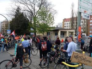 Berlin Deliveroo-Zentrale #Fr13Deliveroo 13.04.2018
