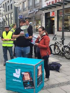 München #Fr13Deliveroo 13.04.2018