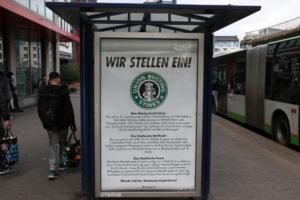 #Freitag13 #Starbucks Adbusting