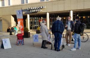 #Freitag13 #Starbucks attac Hamburg