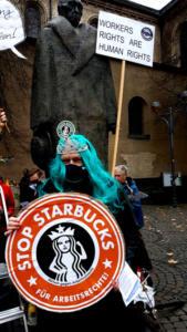 #Freitag13 #Starbucks Wütende Meerjungfrau Köln