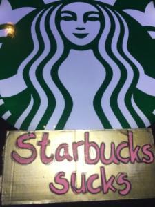 #Freitag13 #Starbucks sucks!