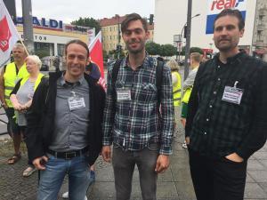 Berlin Treptow  mit Pascal Meiser, MdB, Die LINKE