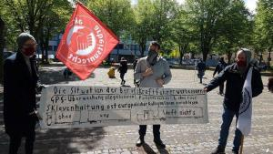 Köln Kalk LKW Fahrer#1Mai2020 #unteilbarsolidarisch