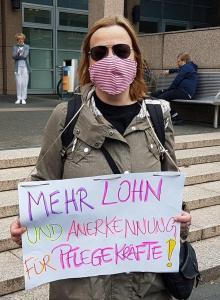 Köln Uni Klinik Mehr Lohn#1Mai2020