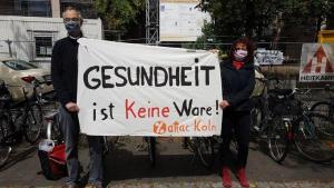 Köln Uni KLinik attac#1Mai2020